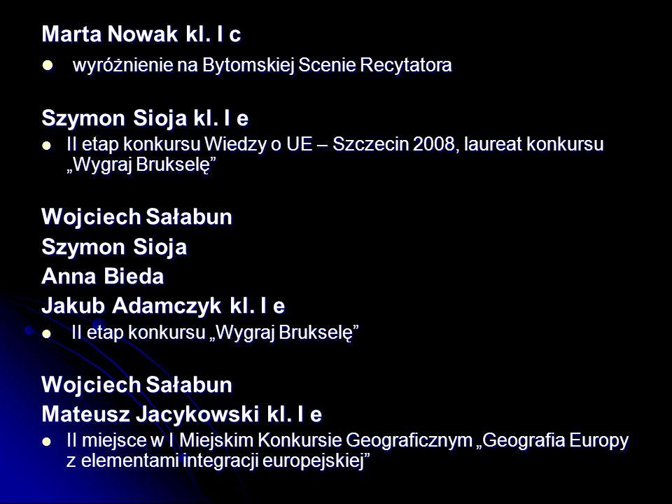 Marta Nowak kl.