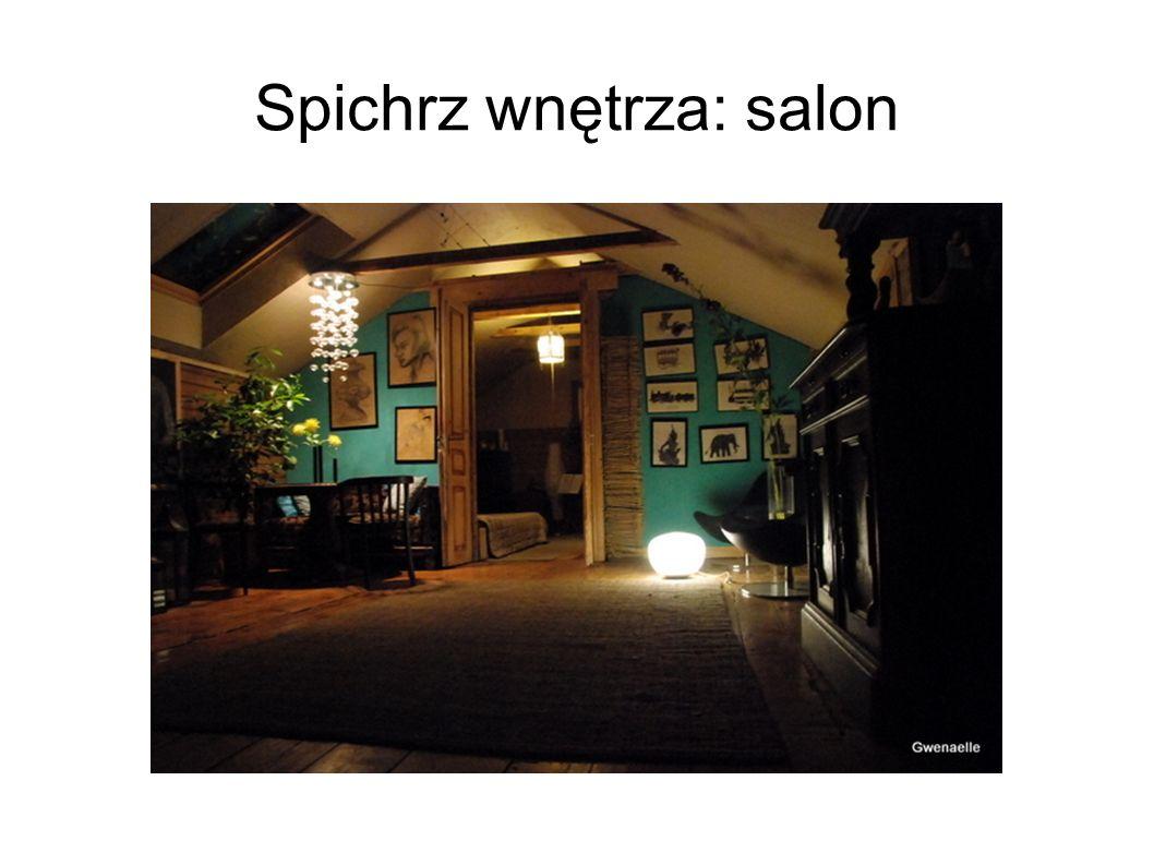 Spichrz wnętrza: salon