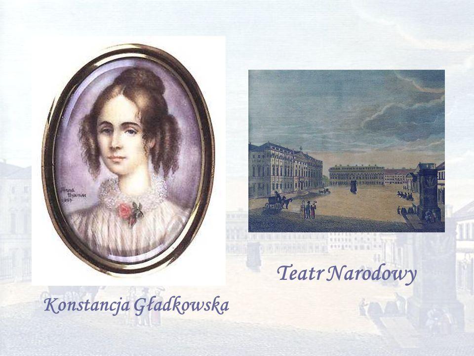 Konstancja Gładkowska Teatr Narodowy