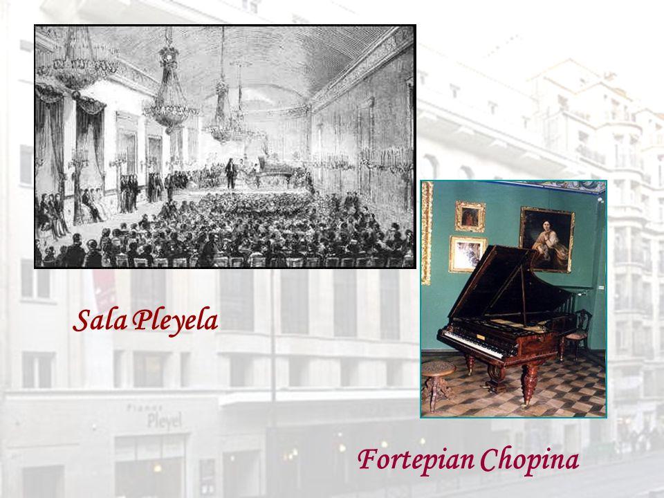 Sala Pleyela Fortepian Chopina