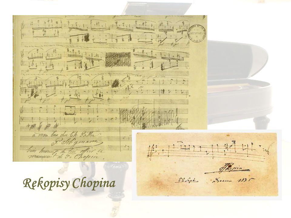 Rękopisy Chopina