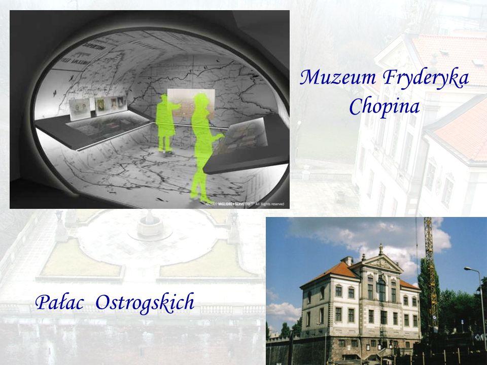 Muzeum Fryderyka Chopina Pałac Ostrogskich