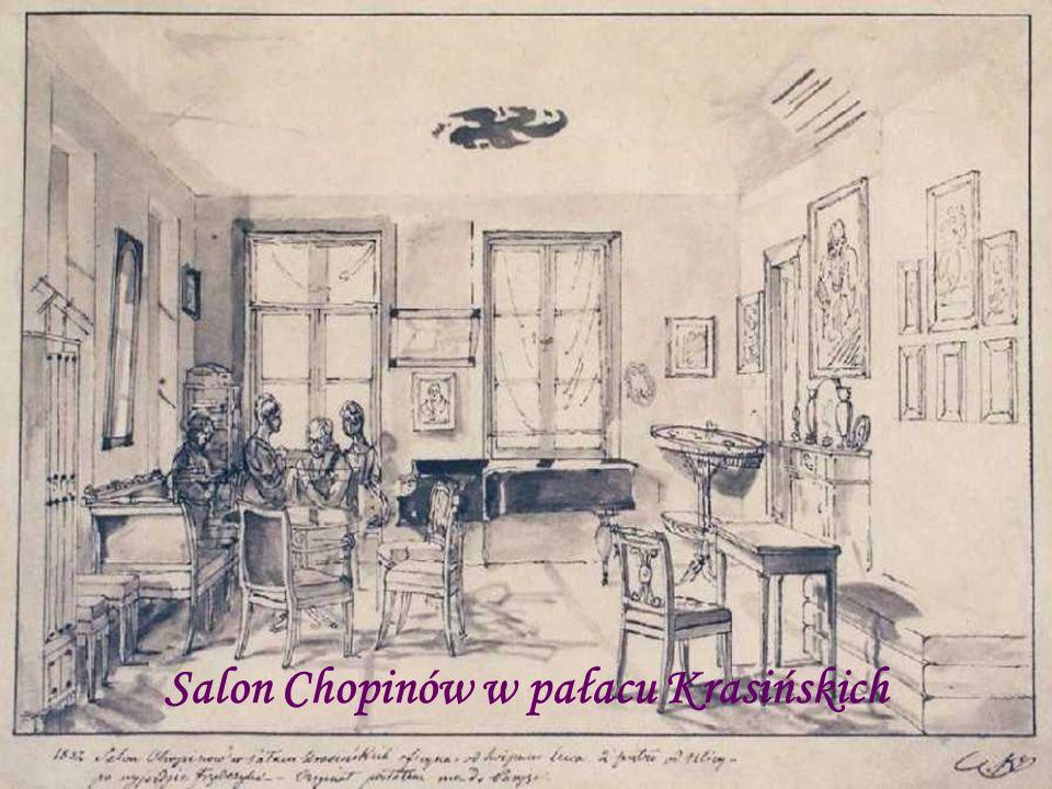 Salon Chopinów w pałacu Krasińskich