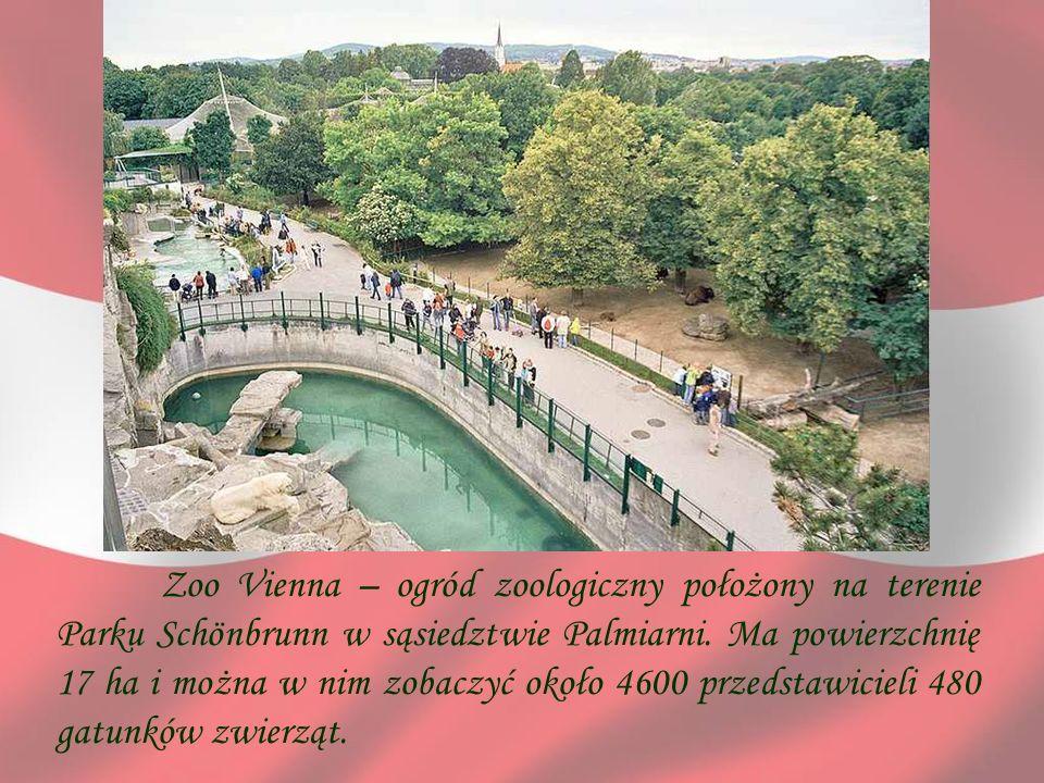 Zoo Vienna – ogród zoologiczny położony na terenie Parku Schönbrunn w sąsiedztwie Palmiarni. Ma powierzchnię 17 ha i można w nim zobaczyć około 4600 p