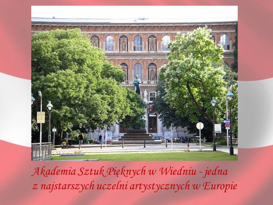 Akademia Sztuk Pięknych w Wiedniu - jedna z najstarszych uczelni artystycznych w Europie