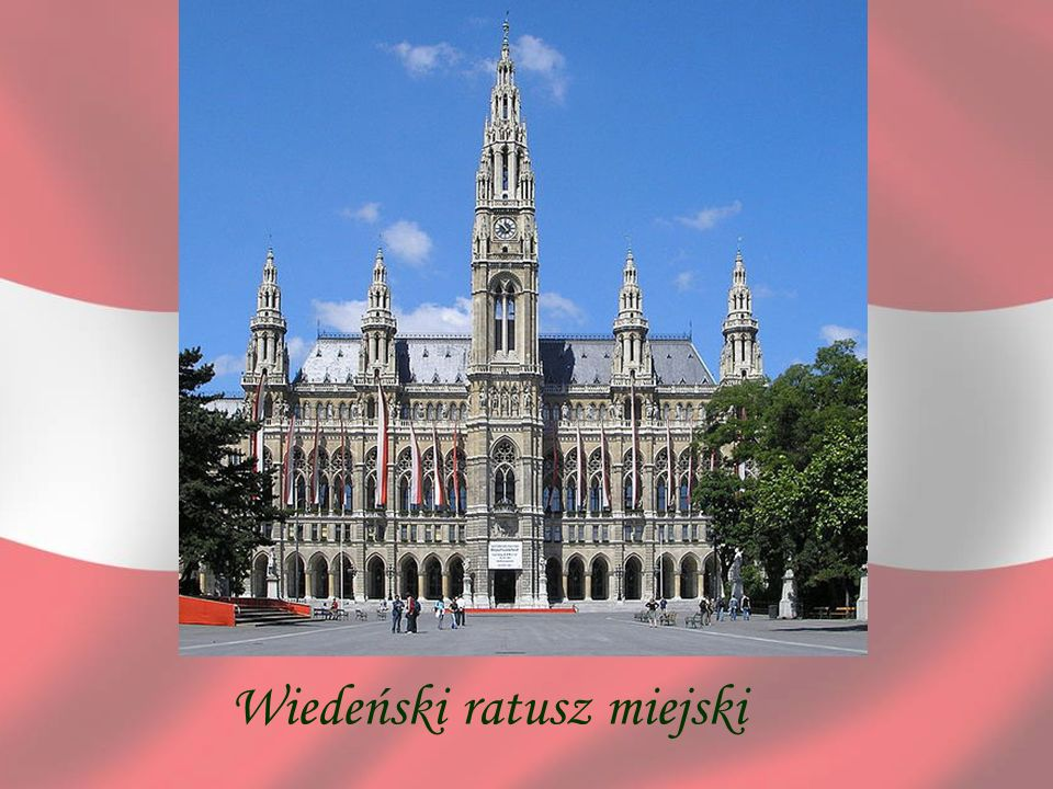 Wiedeński ratusz miejski
