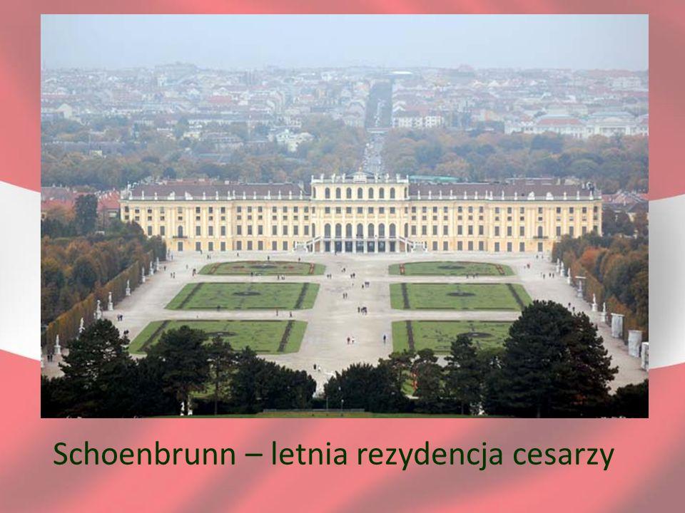 Schoenbrunn – letnia rezydencja cesarzy