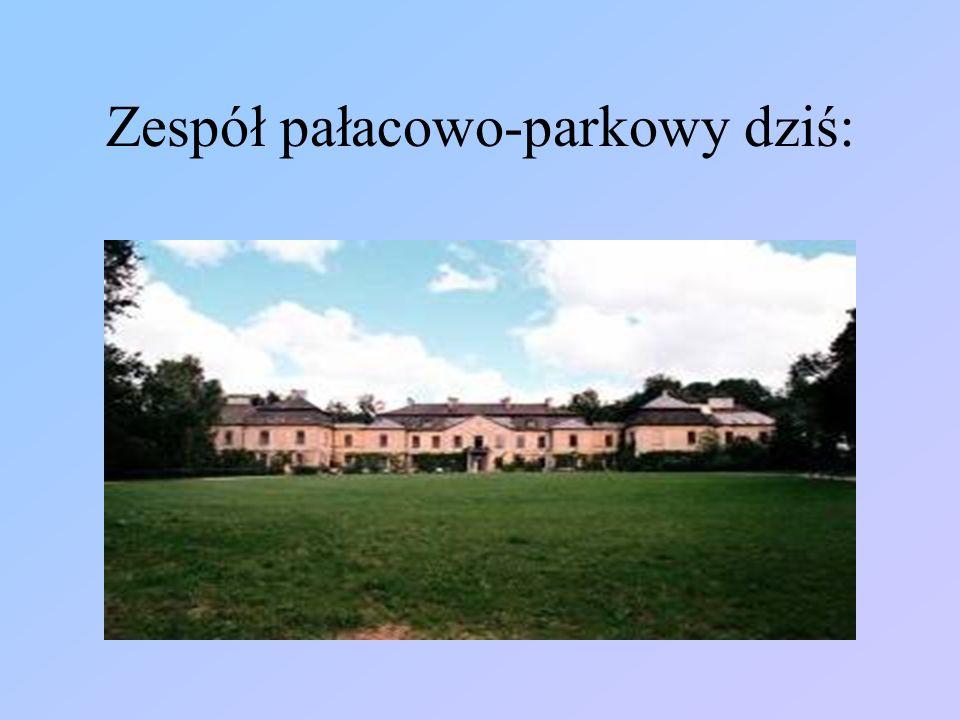 Brama wjazdowa do zespołu pałacowo-parkowego w Klemensowie.