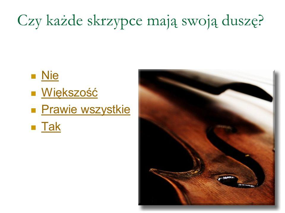 W którym roku zmarł twórca najlepszych skrzypiec na świecie, Antonio Stradivari ? 1746 1737 1733 1739
