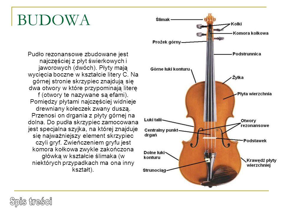 STRADIVARI Najsławniejszym i najlepszym do tej pory budowniczym skrzypiec był Antonio Stradivari ur. 1643 lub 1644 roku w Cremonie, zm. 18 grudnia 173