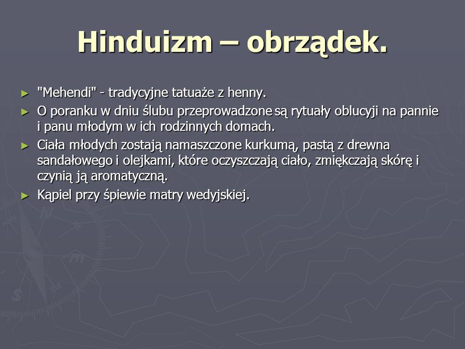 Hinduizm – obrządek.