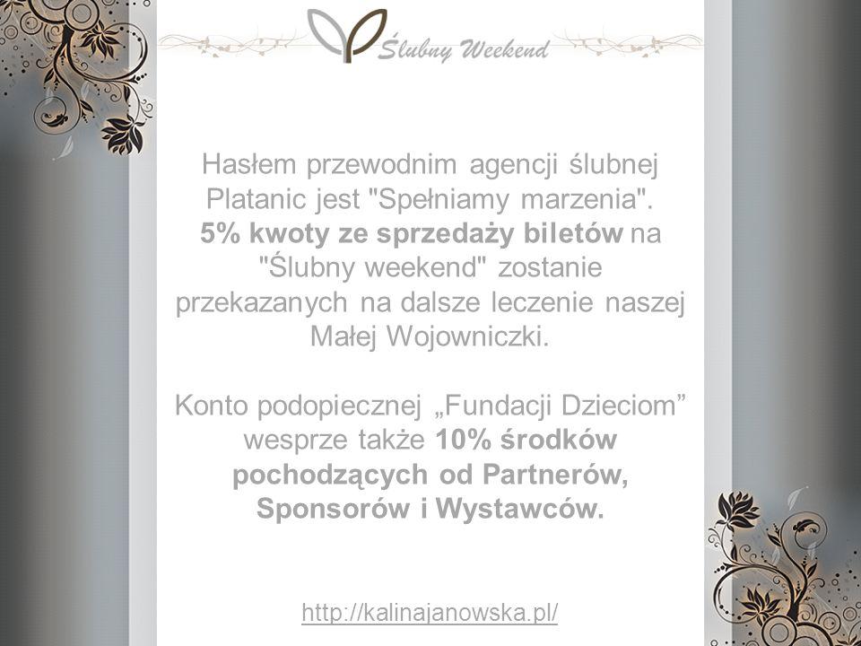 Hasłem przewodnim agencji ślubnej Platanic jest