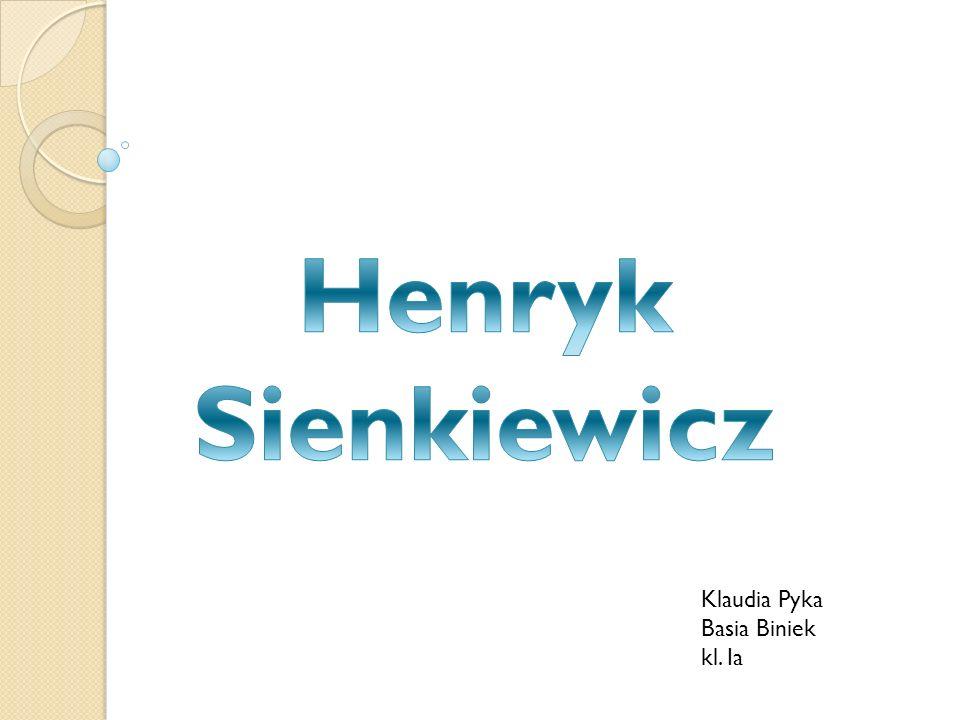 Nagroda Nobla Henryk Sienkiewicz dostał Nagrodę Nobla za wybitne osiągnięcia w dziedzinie eposu i całokształt twórczości, choć niektórzy błędnie twierdzą, że dostał ją za Quo vadis.