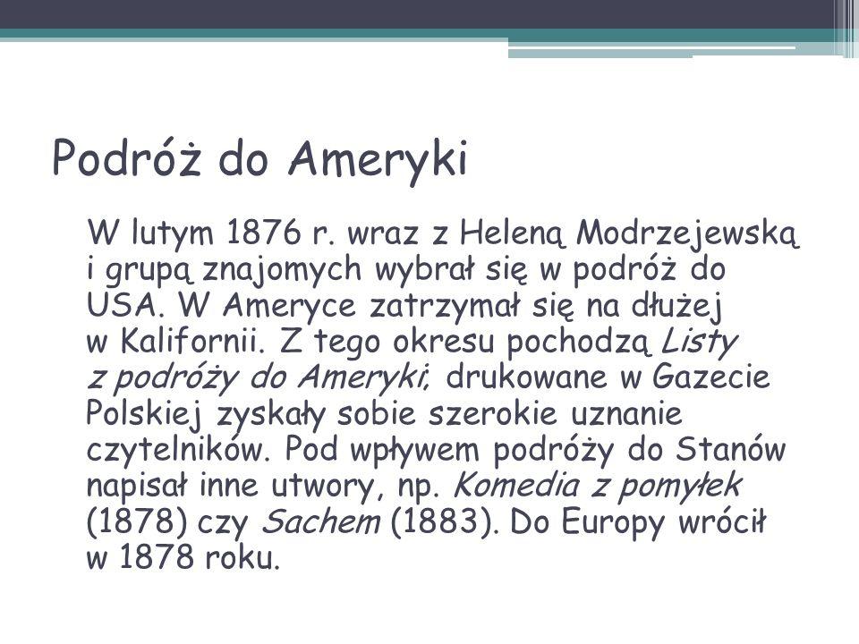 P OMNIKI H ENRYKA S IENKIEWICZA Pomniki Henryka Sienkiewicza znajdują się w Vevey (Szwajcaria), Warszawie, Bydgoszczy, Słupsku, Szczawnicy, Gdyni, Kielcach, a także w Okrzei oraz wielu innych miastach.