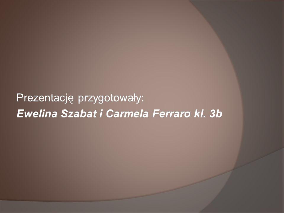 Prezentację przygotowały: Ewelina Szabat i Carmela Ferraro kl. 3b