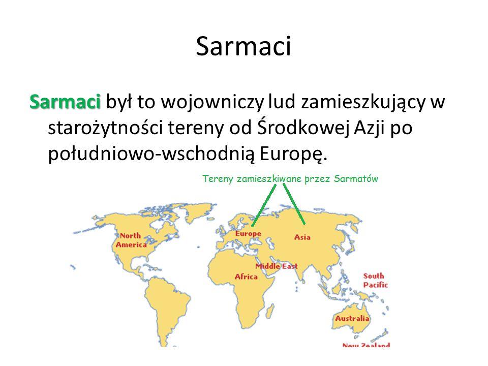Kultura sarmacka Dla sarmatów niezwykle ważne były więzy rodzinne i towarzyskie.