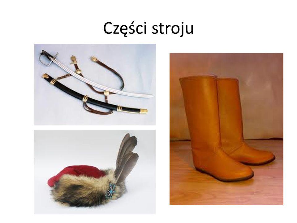 Części stroju
