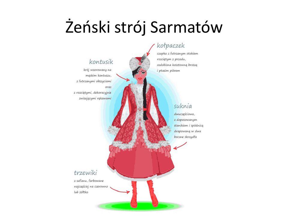 Żeński strój Sarmatów