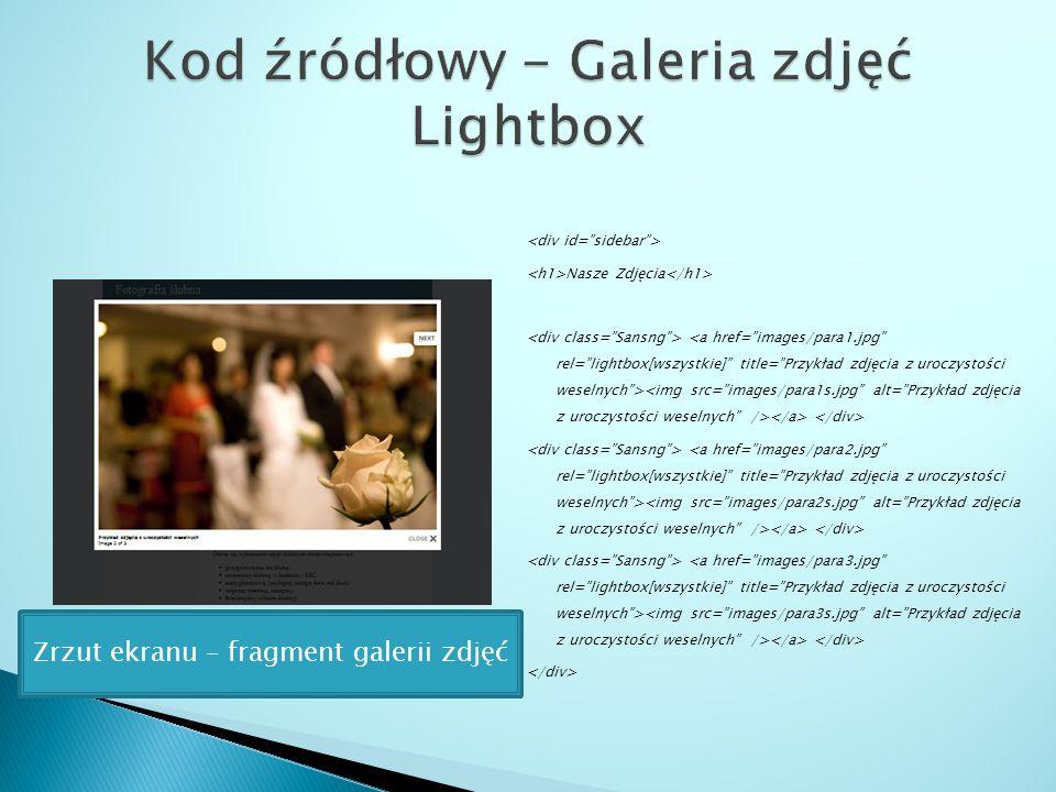 Nasze Zdjęcia Zrzut ekranu – fragment galerii zdjęć