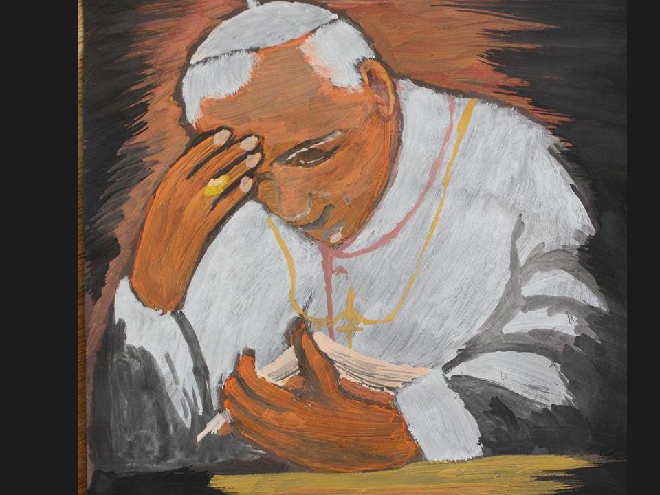 Błogosławiony Jan Paweł II w oczach dziecka Malarskie wizje uczniów naszej szkoły.