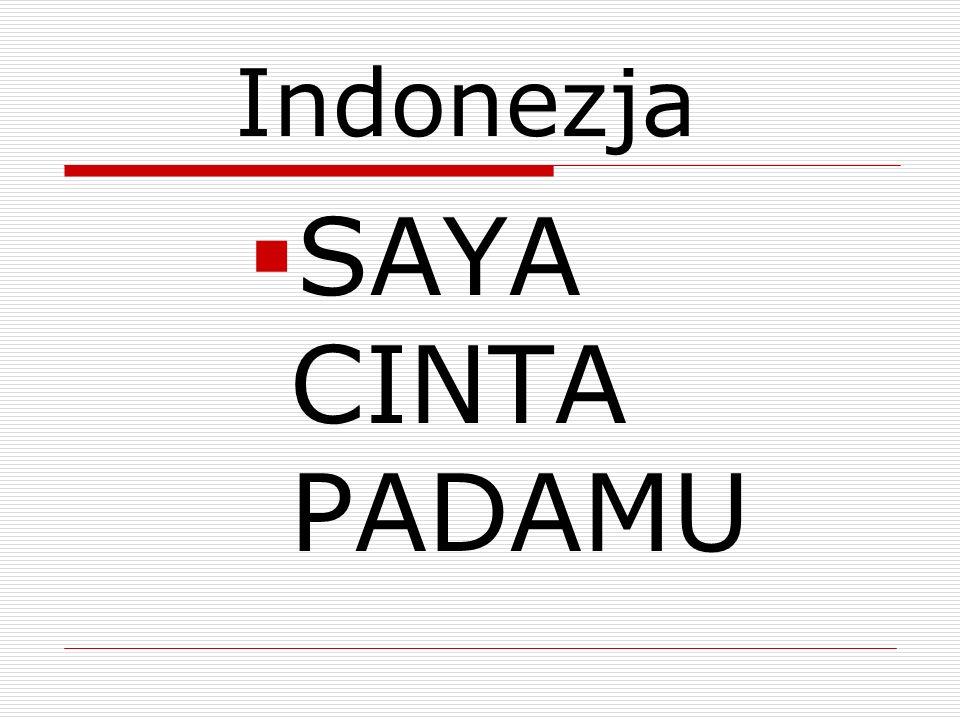 Indonezja SAYA CINTA PADAMU