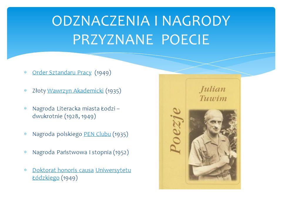 Spacer po Łodzi śladami Juliana Tuwima Aby odwiedzić miejsca związane z życiem poety, trzeba udać się do Łodzi.