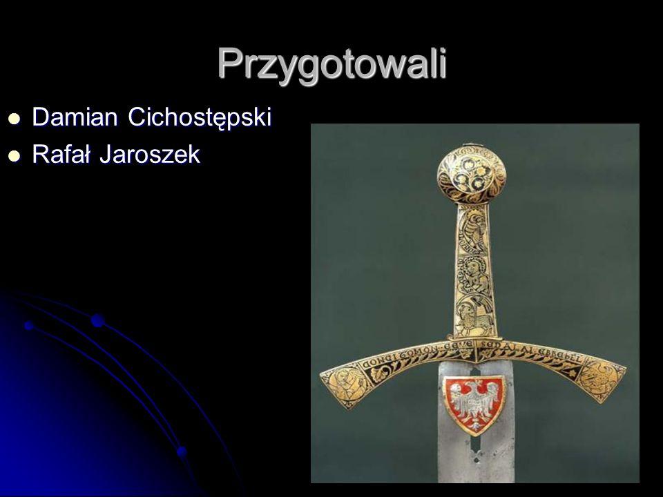 Przygotowali Damian Cichostępski Damian Cichostępski Rafał Jaroszek Rafał Jaroszek