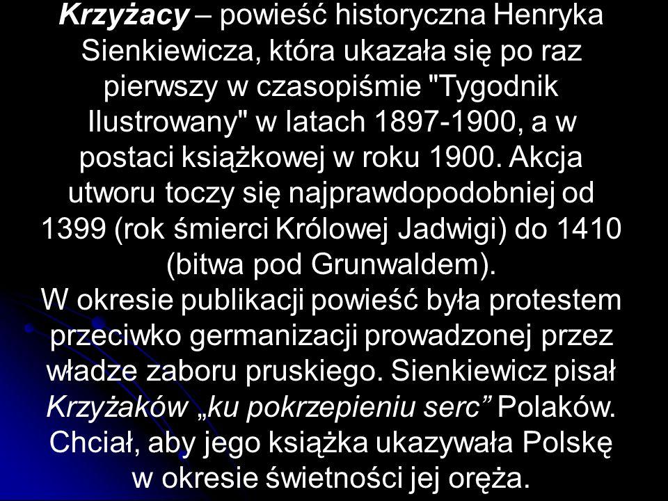 Miejsca akcji Średniowieczna Polska miejsca fikcyjne, np.