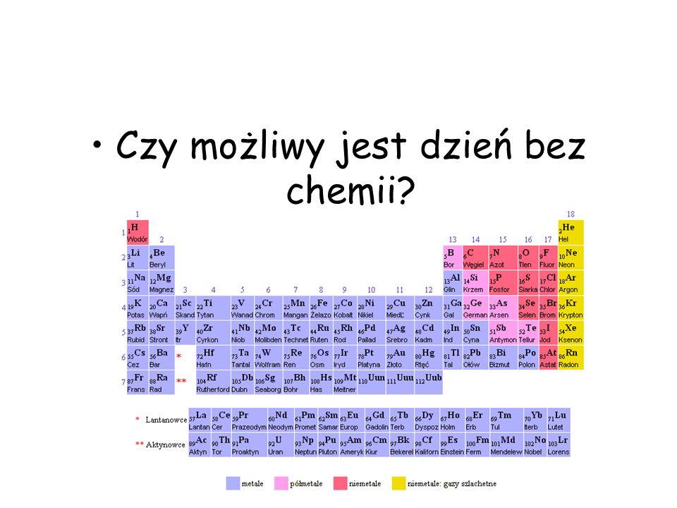 Czy możliwy jest dzień bez chemii?