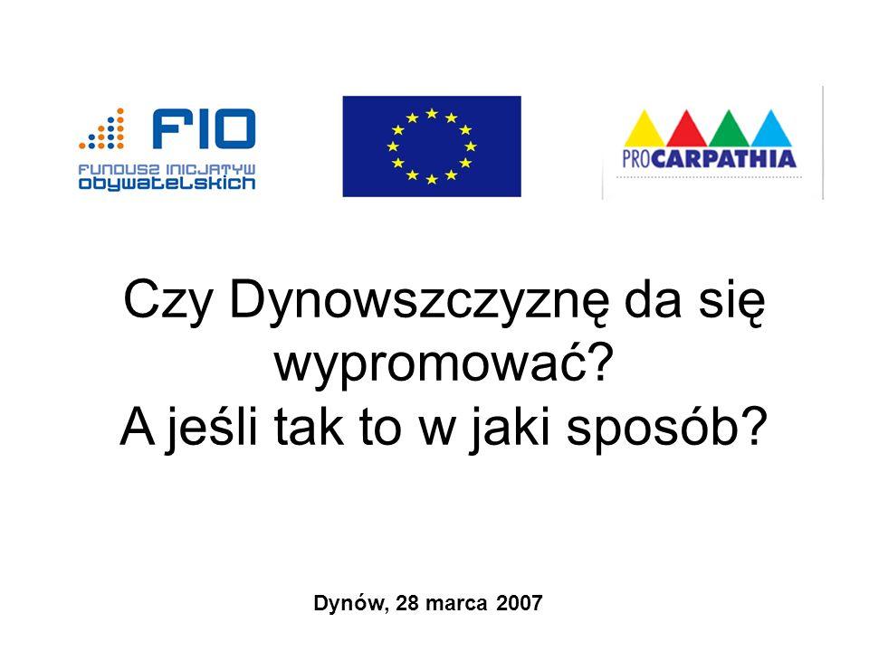 Czy… Czy mieszkańcy Pogórza Dynowskiego, władze samorządów, przedsiębiorcy są w stanie mieć takie relacje z rynkiem, aby doprowadzić do zwiększenia popytu na powstające tu wyroby (atrakcje turystyczne, bazę noclegowa, bazę żywieniową)?