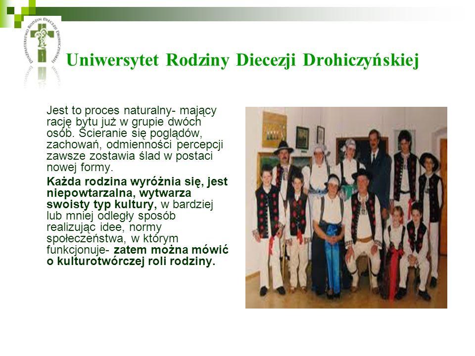 Uniwersytet Rodziny Diecezji Drohiczyńskiej Jest to proces naturalny- mający rację bytu już w grupie dwóch osób. Ścieranie się poglądów, zachowań, odm