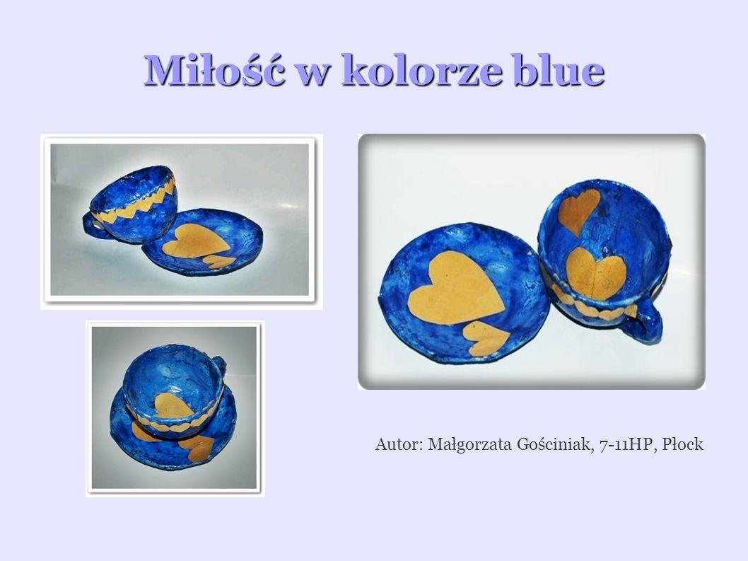 Korale LOVE Sercowy talerzyk Autor: Katarzyna Kondracka, 7-11HP, Płock Autor: Monika Rajewska, 7-11HP, Płock