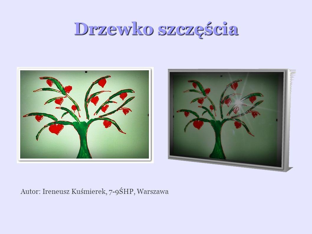Uczucie na szkle malowane Autor: Filip Woźniak, 7-9ŚHP, Warszawa