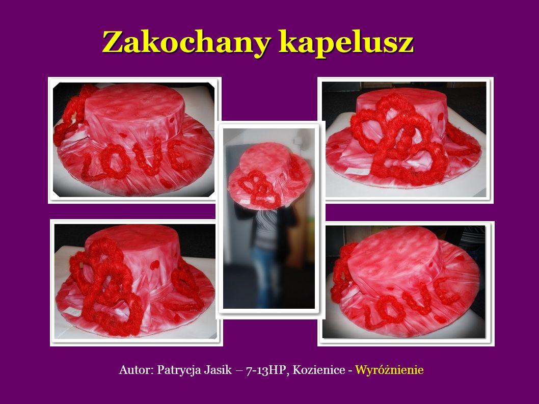Zakochany kapelusz Autor: Patrycja Jasik – 7-13HP, Kozienice - Wyróżnienie