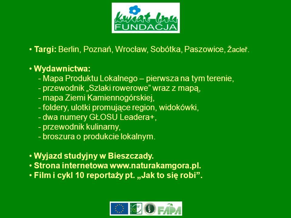 Targi: Berlin, Poznań, Wrocław, Sobótka, Paszowice, Žacleř.