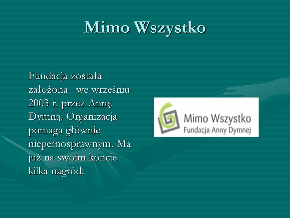 Fundacja Pomocy Dzieciom Z Chorobą Nowotworową Fundacja od 1992 r.