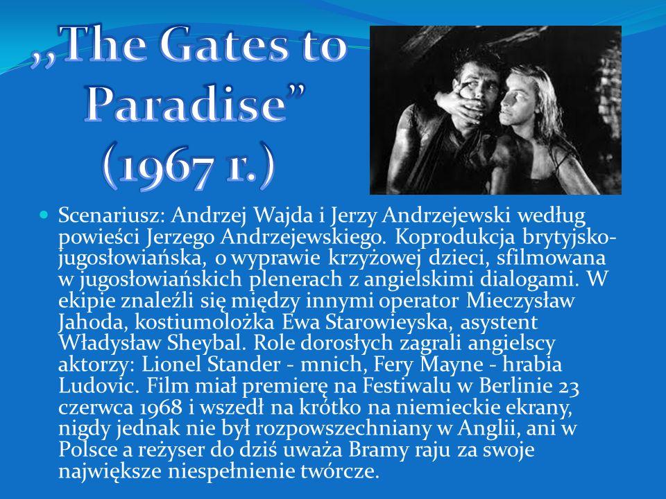 Niewinni czarodzieje to tytuł zaczerpnięty przez Jerzego Andrzejewskiego z pierwszej części Dziadów Adama Mickiewicza. Film absolutnie wyjątkowy, pełe