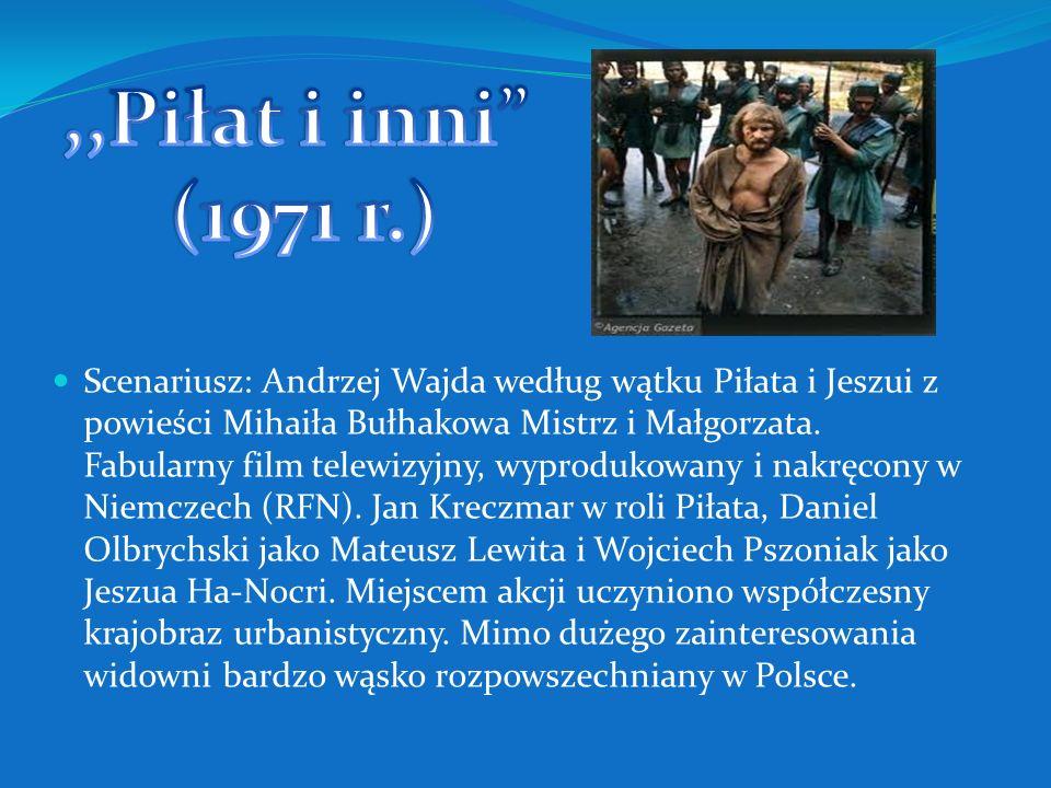 Scenariusz na podstawie własnego opowiadania: Janusz Głowacki. Uwodzicielska studentka polonistyki, kierująca się specyficznymi kryteriami w doborze p