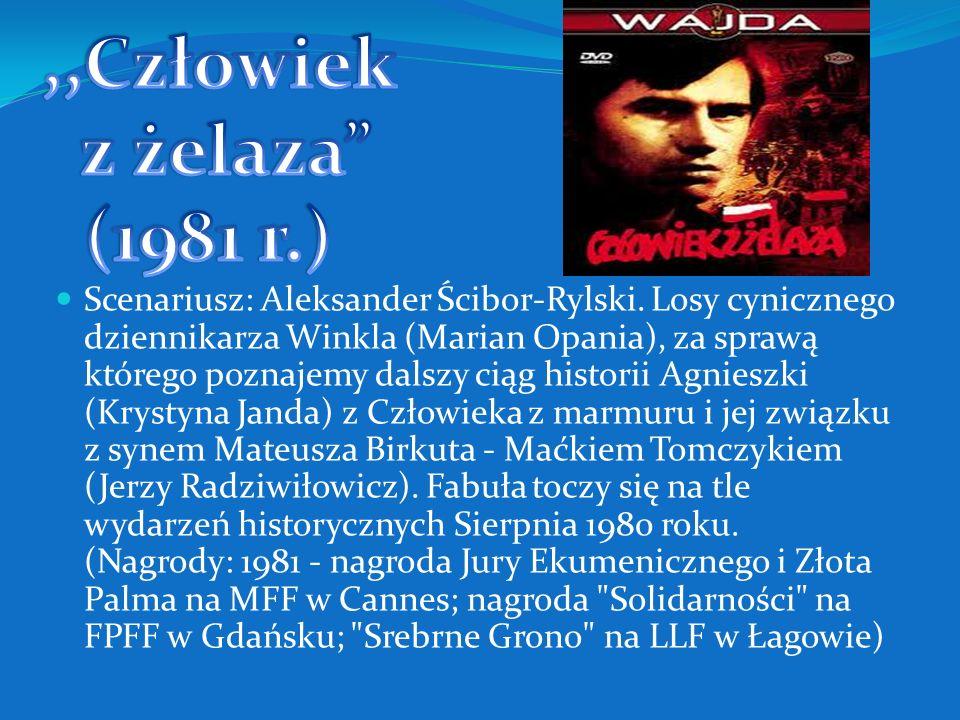 Scenariusz według powieści Josepha Conrada- Korzeniowskiego: Bolesław Sulik i Andrzej Wajda. Reżyser w rozmowie z Wandą Wertenstein powiedział