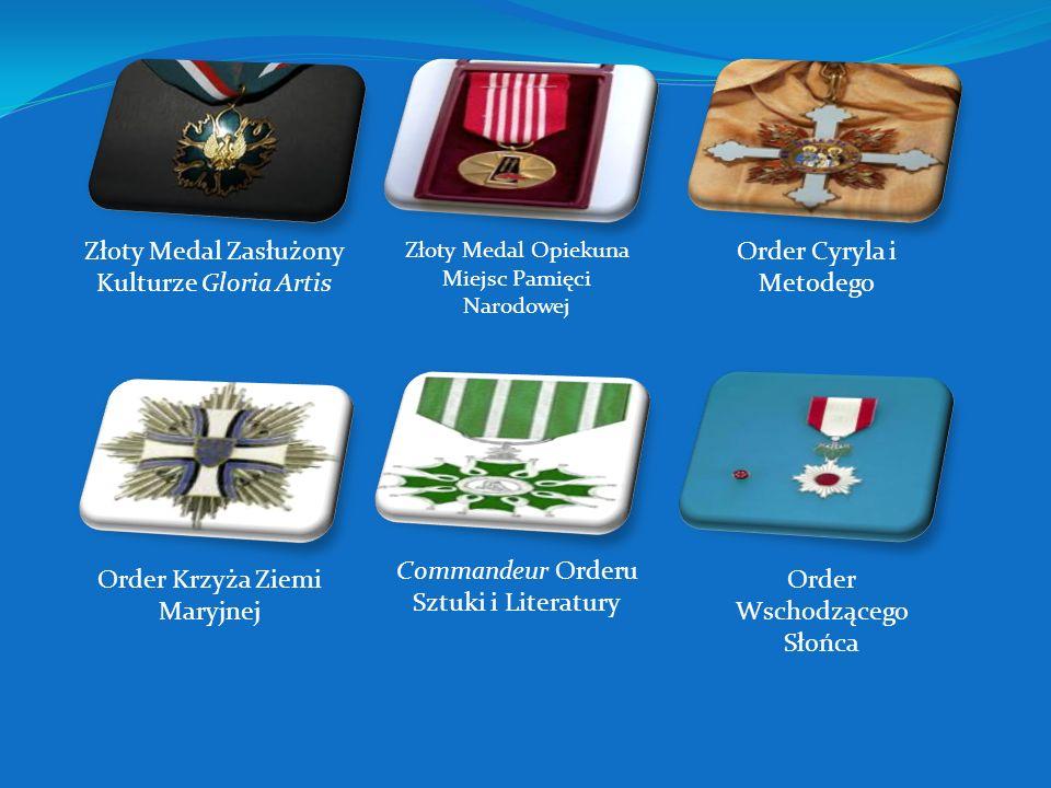 Order Orła Białego Krzyż Orderu Odrodzenia Polski Krzyż Oficerski Orderu Odrodzenia Polski Krzyż Kawalerski Orderu Odrodzenia Polski Order Budowniczyc