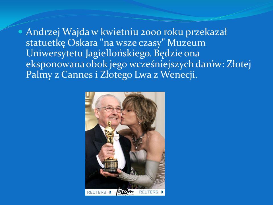 W 2000 za całokształt twórczości został uhonorowany Oscarem. Nominację do tej nagrody otrzymały także wyreżyserowane przez niego filmy,,Ziemia Obiecan
