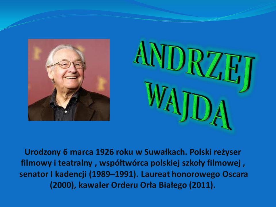 Urodzony 6 marca 1926 roku w Suwałkach.