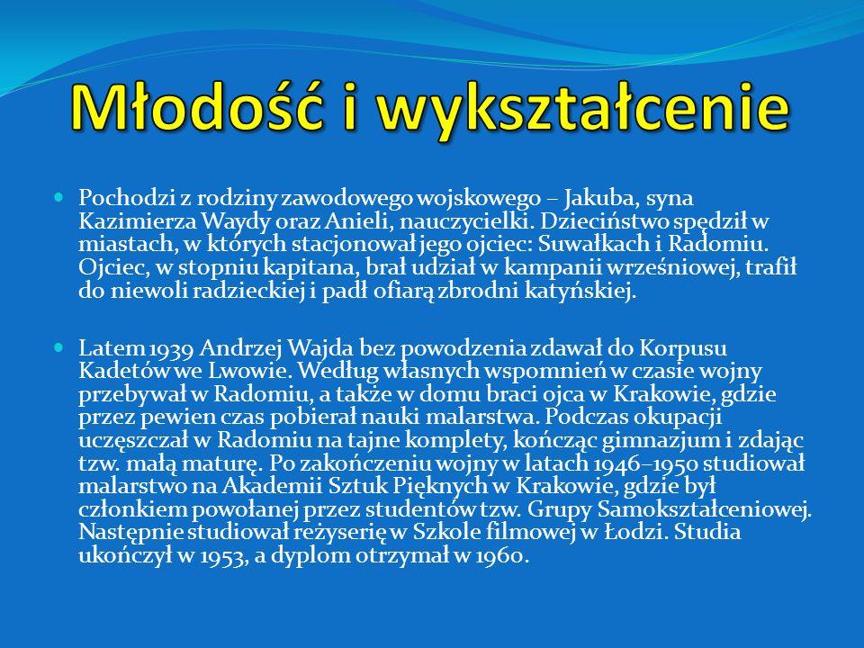Pochodzi z rodziny zawodowego wojskowego – Jakuba, syna Kazimierza Waydy oraz Anieli, nauczycielki.