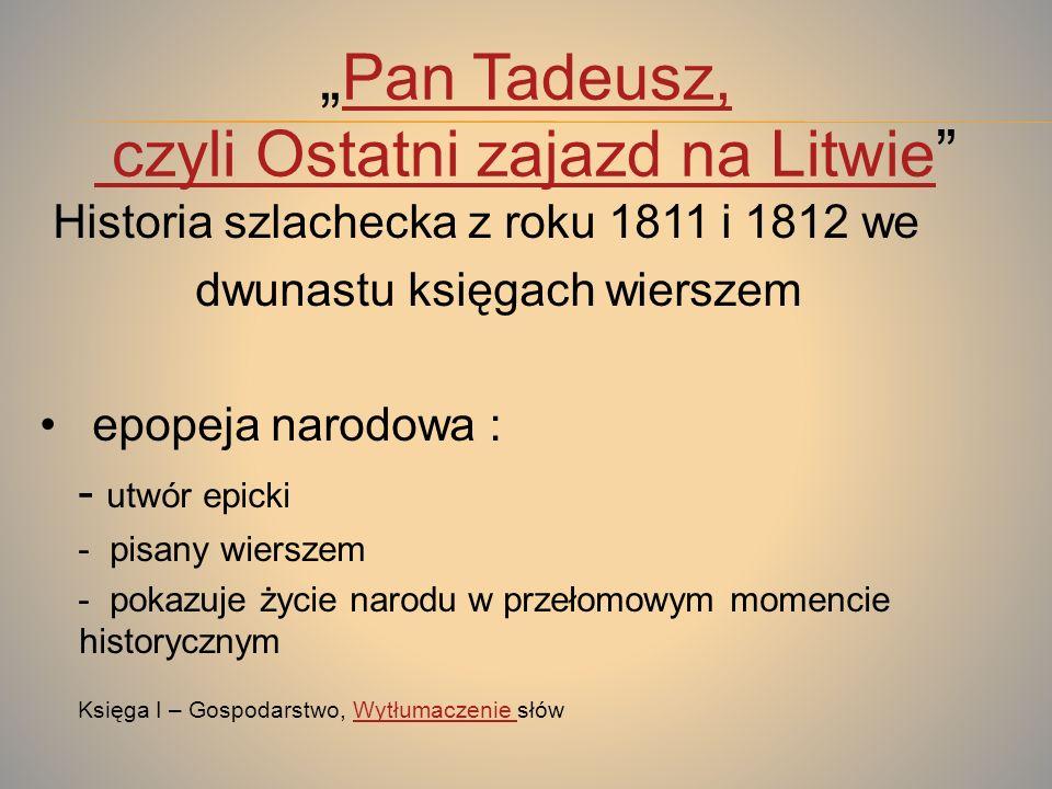 Pan TadeuszTadeusz