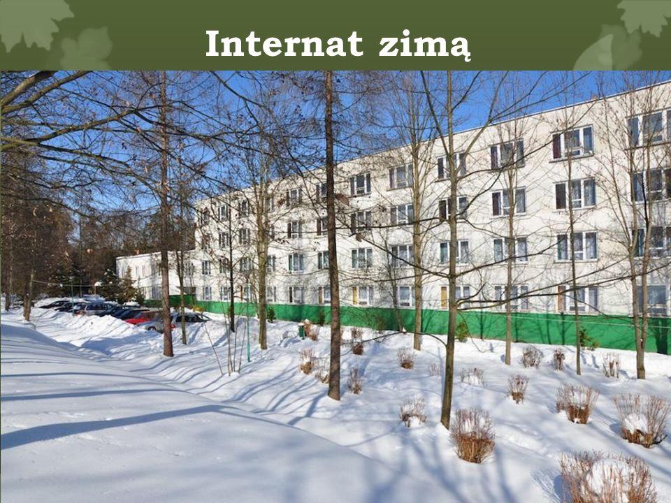 Internat zimą