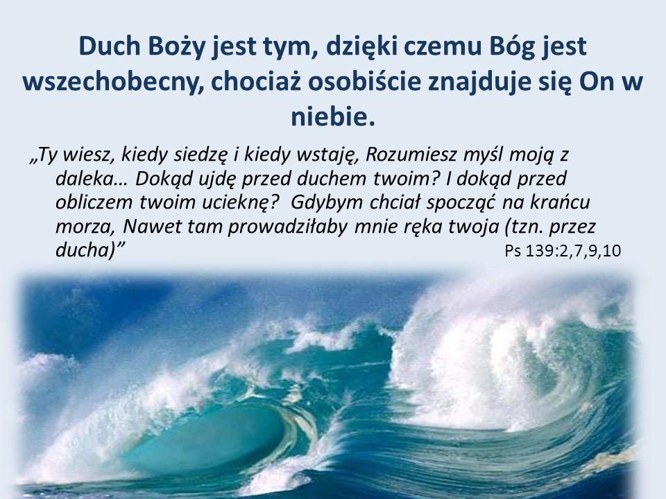 D ARY D UCHA W P IERWSZYM W IEKU - Uzdrawianie.