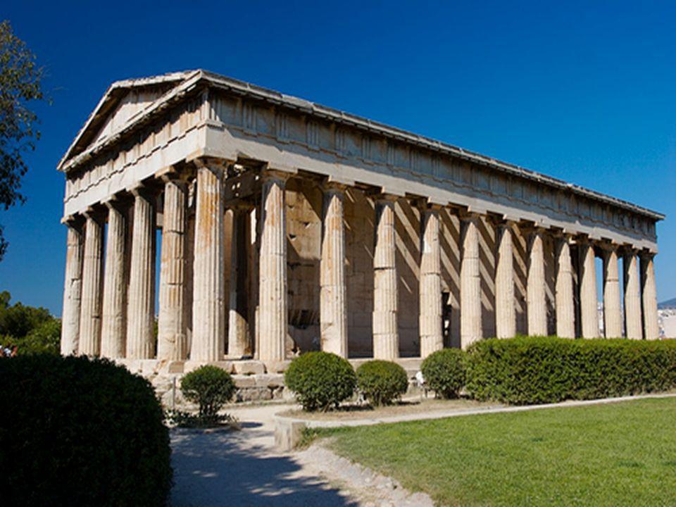 Malarstwo i architektura klasycystyczna Najczęstszym tematem malarzy była staro- -żytność.Przedstawiano antyczne cnoty, odwagę i miłość do ojczyzny.Ukazywano również liczne wojny i bitwy.Projektowano budowle wzorując się na stylach greckich oraz rzymskich.Liczne świątynie i inne ważne budynki ozdabiano kolumnami i rzeźbami.