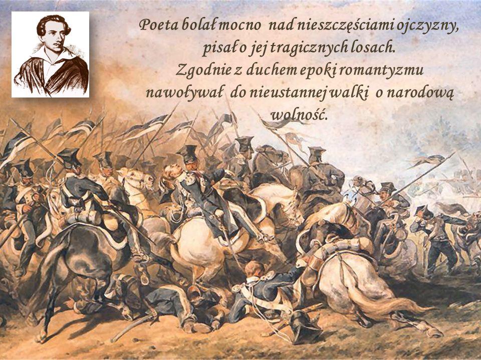 Poeta - wieszcz Wieszcz - to poeta doskonały, natchniony przez bogów, przewidujący przyszłość.