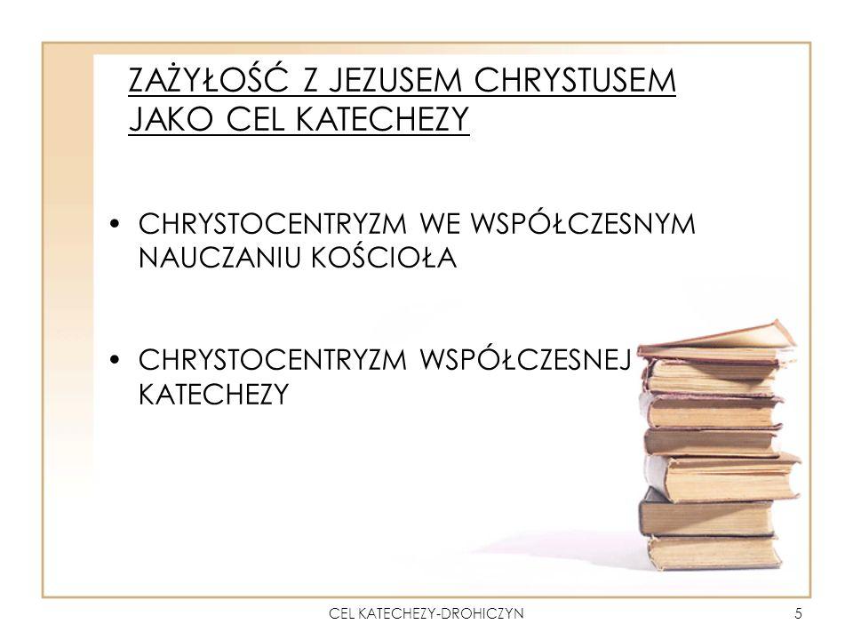 CEL KATECHEZY-DROHICZYN16 DOJRZAŁA WIARA: DWA WYMIARY - DOK 92 Wymiar przedmiotowy - zwerbalizowanie tego, co zostało objawione przez Boga i uznanie za prawdę.