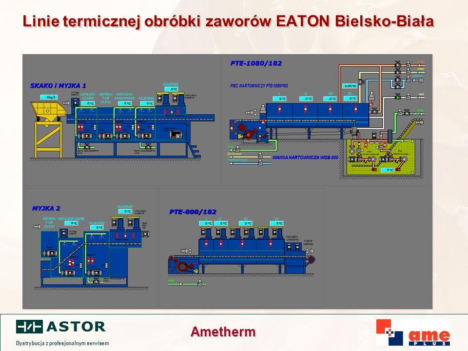 Dystrybucja z profesjonalnym serwisem Ametherm Linie termicznej obróbki zaworów EATON Bielsko-Biała